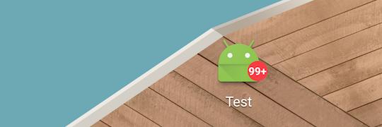 ShortcutBadgerでホーム画面にバッジを表示 – Android